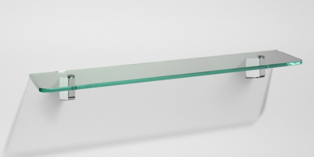 S3 de sonia sonia s3 repisa cristal for Repisa para bano sin taladro