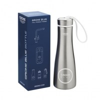 BOTELLA ACERO INOXIDABLE GROHE BLUE