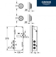 GROHE F-DIGITAL BAÑO