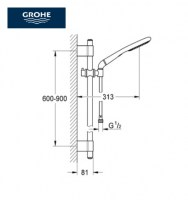 OUTLET GROHE RAINSHOWER ECO