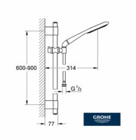 OUTLET GROHE RAINSHOWER ICON