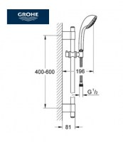 OUTLET GROHE RELEXA ULTRA CHAMPAGNE