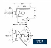 GROHE TERMOSTATO MEDICAL