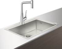 PACK FREGADERO-GRIFERIA SELECT 660 HANSGROHE