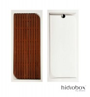 TARIMA PARA PLATO VISUAL RECTANGULAR IROKO HIDROBOX