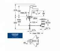 GROHE CONCETTO NEW LAVABO