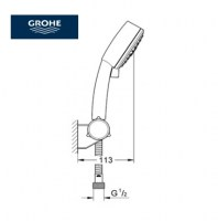 OUTLET GROHE NEW TEMPESTA COSMO III